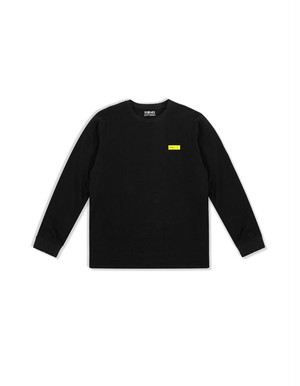 XENO LABEL LS T-shirt BlackYellow
