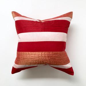 【訳ありセール】ストライプのクッションカバー|【Sample】Striped Cushion Cover