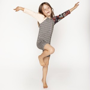 【mini seea】Swamini kids sunsuit - Rise