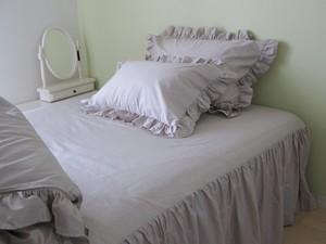 drawers ベッドスカート SD セミダブル グレー