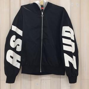ASIANZエイジアンズ 289920 フード付き袖ロゴブルゾン