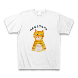HANDSOME CAT T SHIRT 送料無料