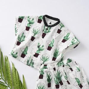 【size 130】サボテン柄 トラベラーズシャツ