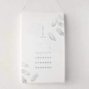24節気と満月を記した「12か月のとっておき」カレンダー