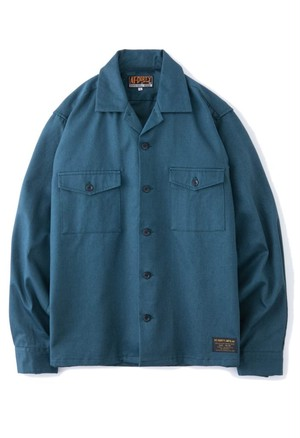 """AT-DIRTY(アットダーティー) / """"ATD THUNDER L/S SHIRT""""(BLUE)"""