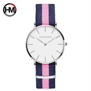ジャパンクォーツシンプルな女性のファッション時計ホワイトレザーストラップレディース腕時計ブランド防水腕時計36mmCB36-Y7