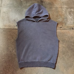 00s Hooded  Sweat Vest