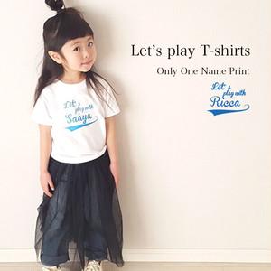 【名入れ】ORICLO オリクロ Let's play Tシャツ
