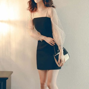 【即納・国内在庫】Short Dress td672