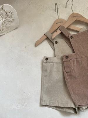 『翌朝発送』Narnia suspender-pants〈monbebe〉