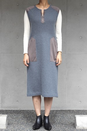 【KOTONA】shaggy dress-gray