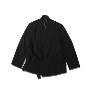 SIDE STRING JACKET / BLACK