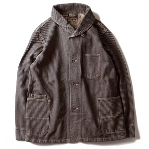 AT-DIRTY(アットダーティー)/WORKERS JACKET (BROWN HICKORY)