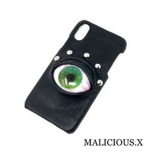 eye iPhone X case / green