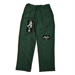 PEELS / PATCH PANTS -GREEN-