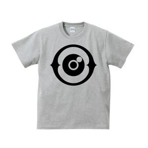 YOCO ORGAN Tshirt 004 Gray×Black(MENS/LADYS)