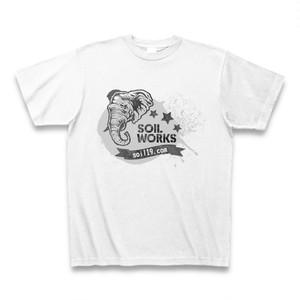 SOILWORKSのTシャツ(ゾウさん)