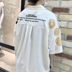 【HOME MADE】ドーナツ開襟シャツ(110023)