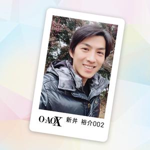 男劇団 青山表参道X 新井裕介 3rd Fan Event 公式FANDA CARD