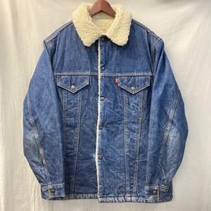 "70's ""Levi's"" Denim Boa Jacket"