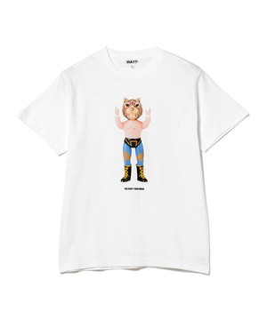 THE FIRST TIGER MASK40周年 × HAROSHI  Tee
