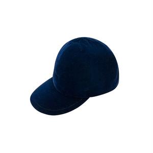 ADJUSTER CAP(VELVET)/navy