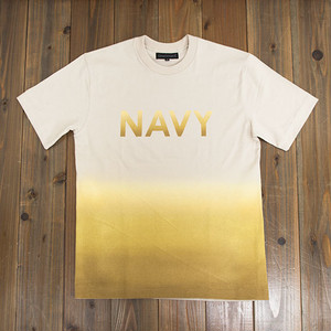 COOCHUCAMP : Happy Gradation T-shirt / Beige