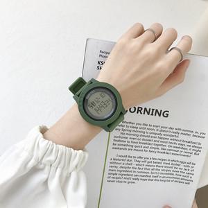 【小物】多色展開!韓国系ファッションカジュアルラウンドデジタル時計27337064
