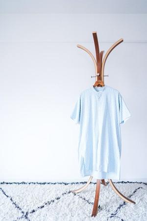 "【1940-50s】""French Made"" Euro Vintage Grandpa Shirts / v566"