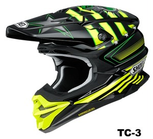 SHOEI VFX-WR GRANT3 TC-3