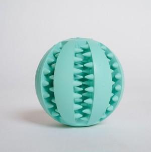 DOGGY BRO.(ドギーブロ) 天然ゴム歯磨きボール【ライトブルー/Mサイズ】