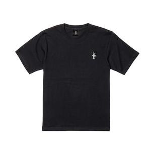 ホプリテスロゴ 半袖 黒