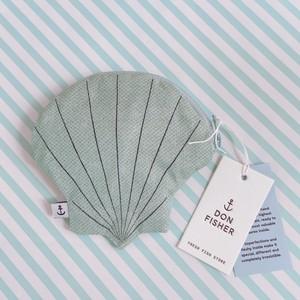 【Don Fisher】Oyster PURSE 貝の形のミニポーチ/小銭入れ