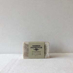 PATOUNIS / olive soap / green