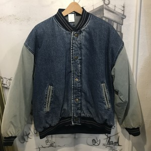 denim stadium jacket