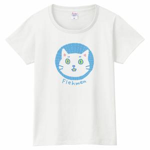 フレーメンにゃんこTシャツ〈レディースサイズ〉