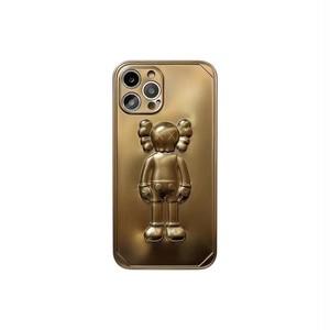 KAWSマットメタル(6col) iPhoneケース  50
