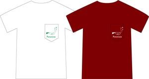 ポケット&刺繍Tシャツ