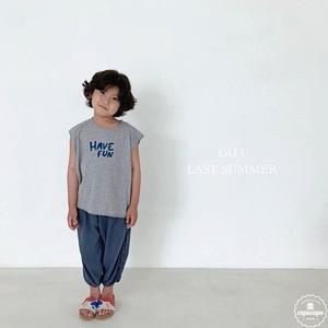 «予約»«ジュニア» go.u fun sleeveless 2colors ファンノースリーブ ジュニアサイズ