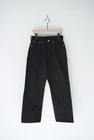 FARMERS 5P BLACK DENIM one wash/OM-P108BOW