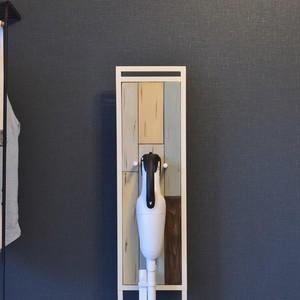 Shabby Chic Stick Cleaner Stand / シャビーシックスタイル シャビーシック スティック掃除機スタンド