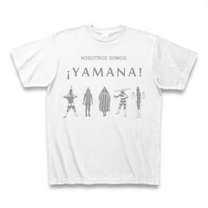 YAMANA Tシャツ NOSOTROS SOMOS YAMANAモデル ホワイト