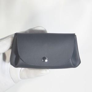 ジャバラウォレットミニ 黒(アコーディオン財布・コインケース付きミニ財布)