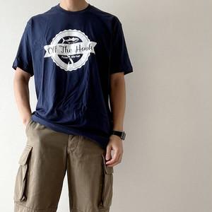 【木梨目線でも紹介されました】Off The Hook Poke Market オフザフックポケマーケット 限定 オリジナルTシャツ【othpm002-navy】