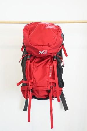 【OGZ USED】MILLET サースフェー40+5 / 色: DEEP RED / サイズ: M / ミレー バックパック