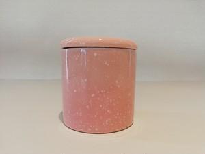 骨つぼ ミニサイズ◇ピンク さくら 桜◇シリコン付◇仏具◇2.5寸◇骨壺◇分骨にも使えます