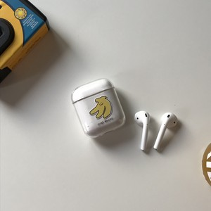 [second morning] AirPods ハードケース (BANANA)