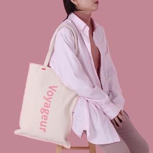 voyageur bag -pink-