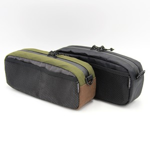 "SAUCE CYCLE ""MESH POCKET BAR BAG"" X-PAC"