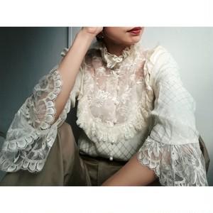 """""""ungaro parallèle paris"""" vintage lace blouse"""